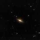 M104 Sombrero Galaxy *Test Mount*,                                Michi Scheidegger