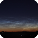 Noctilucent Clouds - 30th June 2011,                                Tony Cook
