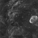 NGC6888 en Halpha,                                  Georges