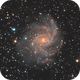 NGC 6946 The Fireworks Galaxy,                                Chen Wu