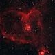 Heart Nebula HaRGB,                                BeastOnion