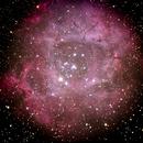 Rosette Nebula from the Grand Canyon (single exposure),                                gfunkernator