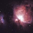 M42 - The  Orion Nebula,                                AlbertNewland