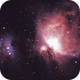 M42 - The  Orion Nebula,                                AlbertNewland