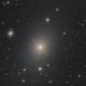 M87 - Virgo A - NGC 4486 - Supergiant Elliptical Galaxy,                                Martin Junius