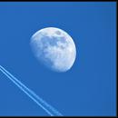 Avion VS Lune,                    jp-brahic