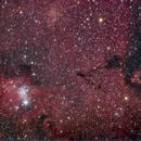 NGC 2264 NGC 2261 NGC 2259,                                ElioMagnabosco