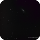 """NGC 3115 (""""Spindle Galaxy"""") and PGC 29300,                                Damien Cannane"""