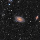 M81 et M82,                                adnst