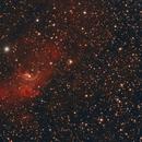 The Bubble (NGC 7635),                    Zubeneschmali