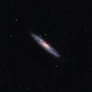 SCULPTOR GALAXY NGC 253,                                José Santivañez Mueras
