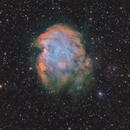 NGC2174 Monkey Head nebula in SHO stars in RGB,                                Jean-François Dou...
