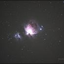 Orion Nebula and Running Man Nebula,                                Isa's Astrophotography Atelier