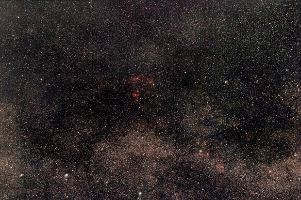 Region between Cassiopeia + Cepheus - incl. Ced 214 + NGC 7822,                                AC1000