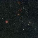 Ic443, Monkey Head nebula, NGC2168 Widefield,                                Thilo Frey