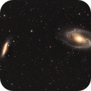 M81 and M82,                                MirachsGhost