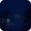 Mond und Jupiter,                                Silkanni Forrer