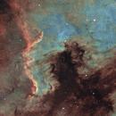 NGC 7000, ma première SHO,                                kaeouach aziz
