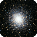 M-13, the great globular cluster,                                Jorge Garcia