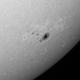 Sonnenfleck mit Fackelgebiet (8.3.2015),                                Benni