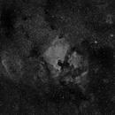 NGC7000 at 85mm in Halpha,                                JDJ