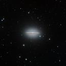 M 104 - La galaxie du Sombrero,                                Roger Bertuli