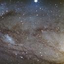 NGC 206, an Andromeda galaxy close up,                                10943_Brunier
