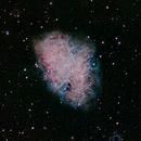 M1 Crab Nebula,                                cray2mpx