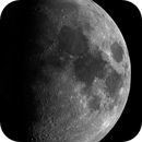 Lunar Disc Mosaic, 58% Waxing Gibbous, 11-16-2018,                                  Martin (Marty) Wise