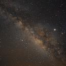 Milky Way from the Big Island of Hawaii on August 3, 2019,                                JDJ