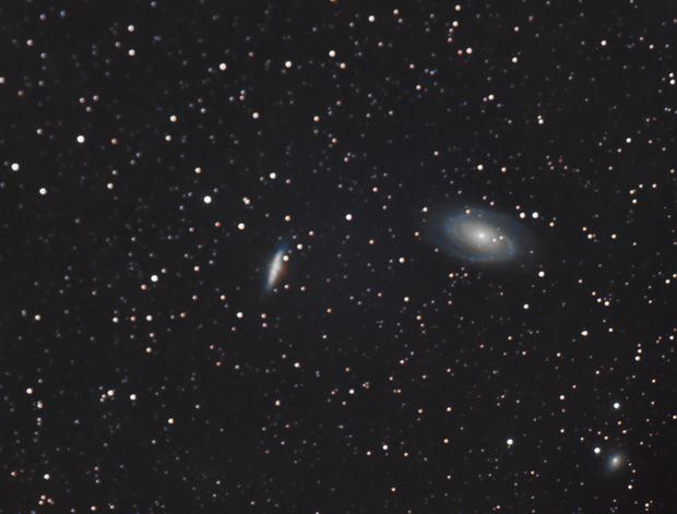 M81 and M82 with Samyang 135,                                Ben