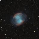 Messier 27 - Dumbbell Nebula,                                Steve Rosenow