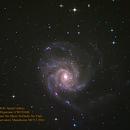 M101 Spiral Galaxy,                                Al Bates
