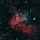 NGC-7380 Wizard Nebula,                                Tyler Jackson Welch
