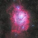 M8 The Lagoon Nebula,                                Copernicus