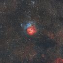 M20 - Trifid Nebula (Reprocessed),                                Ahmet Kale