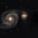 M 51 Whirlpool Galaxy,                    Michael T.
