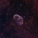 Crescent Nebula, bicolor,                                Chris-A