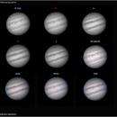 Mosaic of individual channels - Jupiter ,                                Conrado Serodio