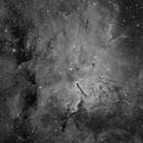 NGC 6820 Ha ,                                Frank Iwaszkiewicz