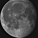Moon,                                Topographic