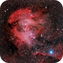 IC 2944, The Running Chicken Nebula,                                José Santivañez Mueras
