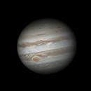 Jupiter and GRS (animation),                                Dzmitry Kananovich