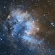Sh2-132/Lion Nebula/Laser Beam Nebula,                                John Kroon