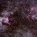 A Region of the Cygnus Constellation,                                AuGusT.Fan