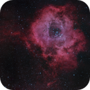 Rosette Nebula - HaGB - 2 panels,                                Nico Carver
