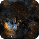 NGC 7822 (revisited in SHO),                                Michel Makhlouta