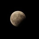 Partial Lunar Eclipse of August 7, 2017: Animation,                                Die Launische Diva