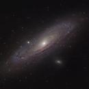 M31  Andromeda w/ DSLR, L-enHance, L-Pro,                                Jeffrey Horne