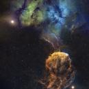 SH2-248 (Jellyfish Nebula) and SH2-249,                                Charles Bonafilia